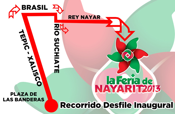 COMUNICADO RECORRIDO FERIA 2013
