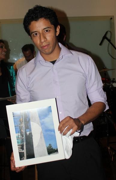 """Paul Soriano Cruz, ganador del segundo lugar del concurso de fotografía denominado """"Mi ciudad, tu ciudad"""""""