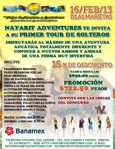 Primera Etapa del Concurso - Imagen Tv Tepic 2013 en las Islas Marietas con Nayarit Adventures