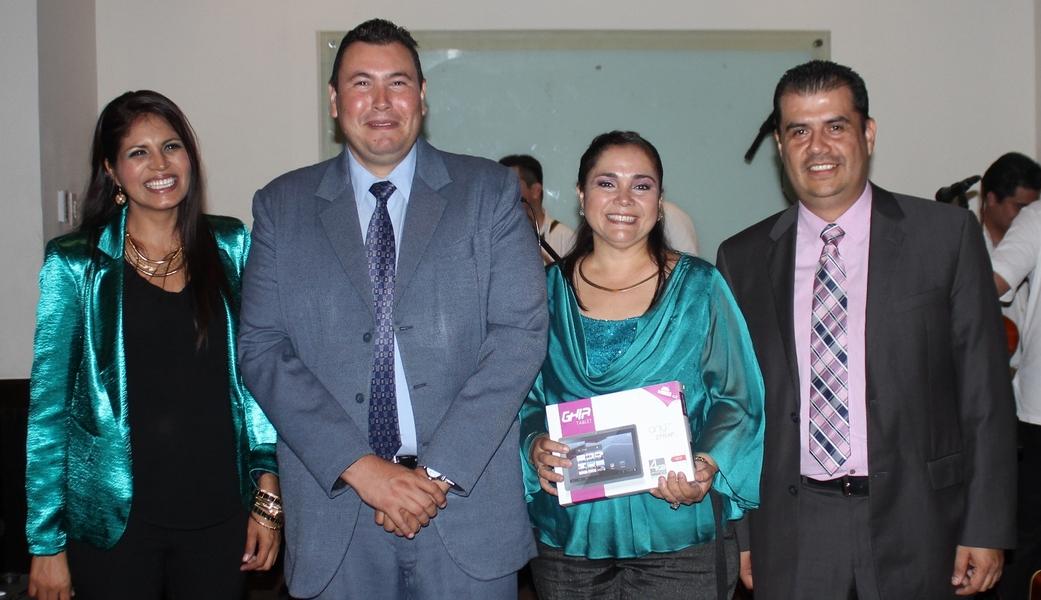 Guadalupe Pérez González, ganadora del sorteo de la Tablet Android